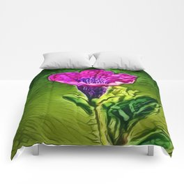 Gentian Passion | Painting Comforters