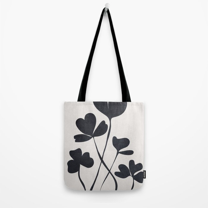 Clover Line Tote Bag