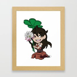 Happy Go Lucky Framed Art Print