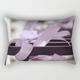 Komen race for the cure. together we can find a cure Rectangular Pillow