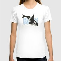 killer whale T-shirts featuring Orca - Killer Whale? by LyndaParker
