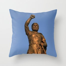 Skopje VI Throw Pillow