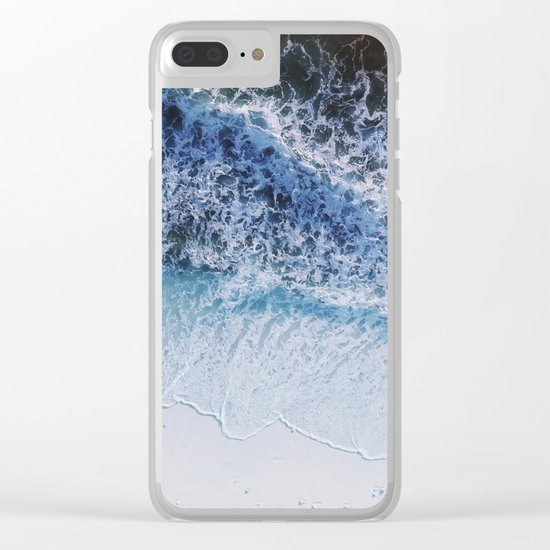 waiting for the tide Clear iPhone Case