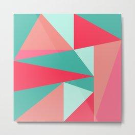 Geometry II (triangles) Metal Print