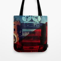 sound Tote Bags featuring Sound by sysneye