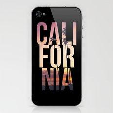 CALI FOR NIA iPhone & iPod Skin