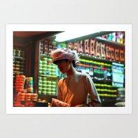 Oman Boy Art Print