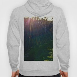 Whimsical Blue Mountains Hoody