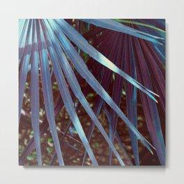 Dream Blue Palmetto Metal Print