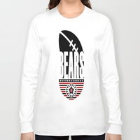 bears Long Sleeve T-shirts featuring BEARS  by Robleedesigns