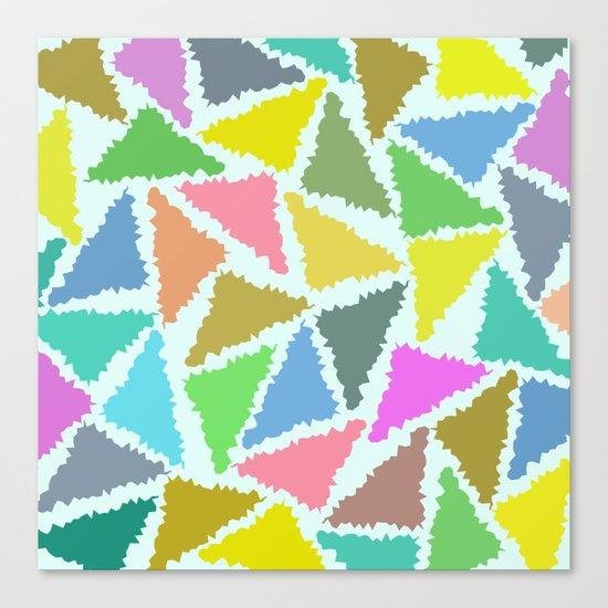Geometric Pattern II Canvas Print