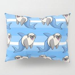 Sharky Pug Pillow Sham