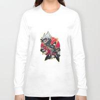 kakashi Long Sleeve T-shirts featuring Kakashibi by Jackce