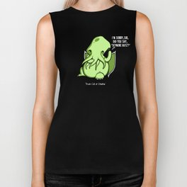 Prank Call of Cthulhu Biker Tank