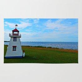 Acadian Playhouse in PEI Rug