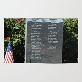 Hood Park Memorial -vertical Rug