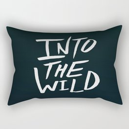 Into the Wild x BW Rectangular Pillow