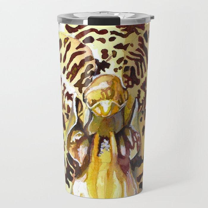 Ansellia Africana Orchid Travel Mug