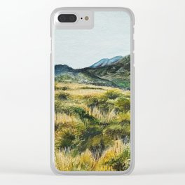 San Andreas Faultline Clear iPhone Case