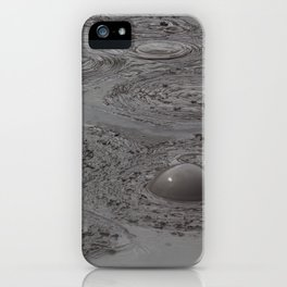 Boiling Mud iPhone Case