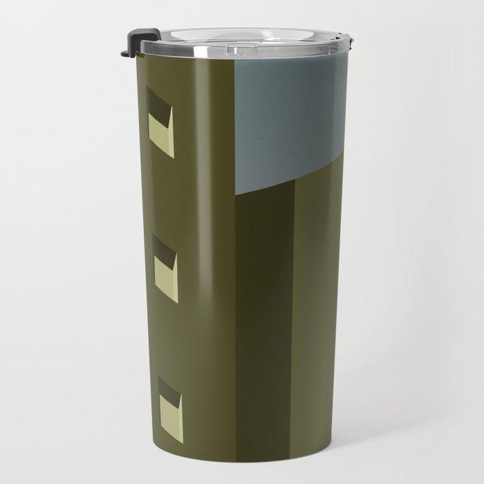 Green Urban Landscape Travel Mug