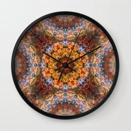 Grand Galactic Alignment Mandala Wall Clock