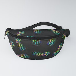 Iridescent pineapples Fanny Pack