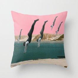 Dive Throw Pillow