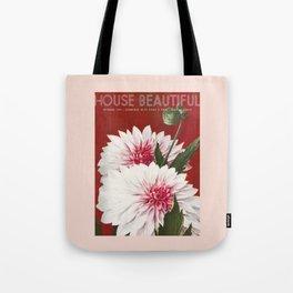 House Beautiful September 1935 Tote Bag