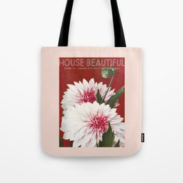 House Beautiful September 1935 Tote Bag