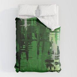 Aromantic Pride Rough Crosshatched Paint Strokes Comforters