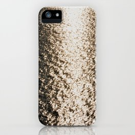 the sea at sunset iPhone Case