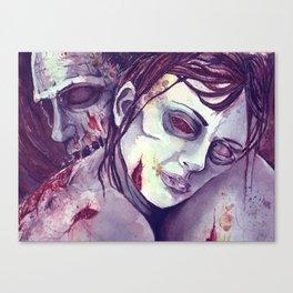 UnDyingLove Canvas Print