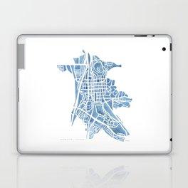 Castle Rock Colorado watercolor map Laptop & iPad Skin