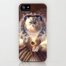 Cat Queen iPhone (5, 5s) Slim Case