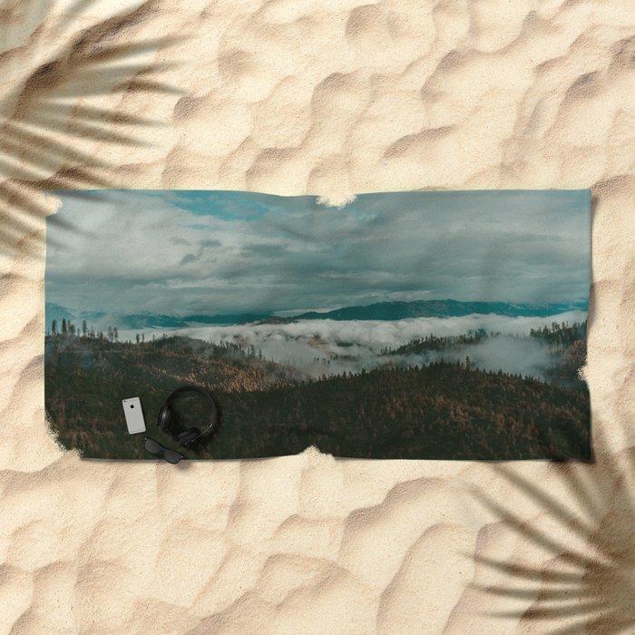 Autumn Wilderness Beach Towel