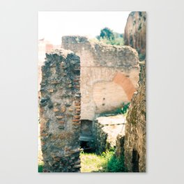Ruins in the Roman Forum 2 Canvas Print