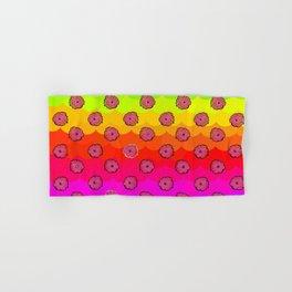 Rainbow and pink flowers Hand & Bath Towel