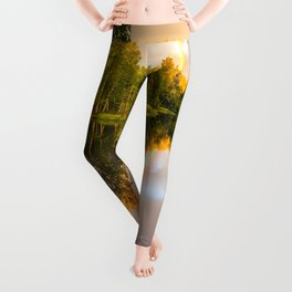 Rainbows: The gift from heaven to us all Leggings