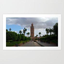 A Marrakesh Moment Art Print