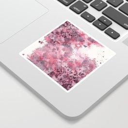 Watercolor Burst I Sticker