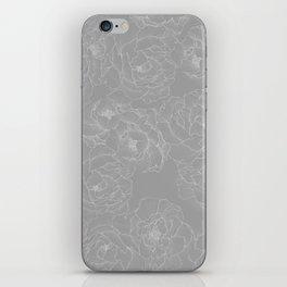 Peony Flower Pattern II iPhone Skin