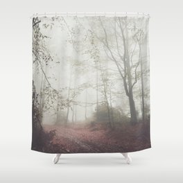 Autumn paths II - Landscape and Nature Photography Shower Curtain