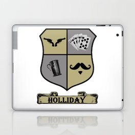 Doc Holliday Coat of Arms Laptop & iPad Skin