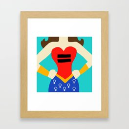 Equality - Women's Rights Framed Art Print