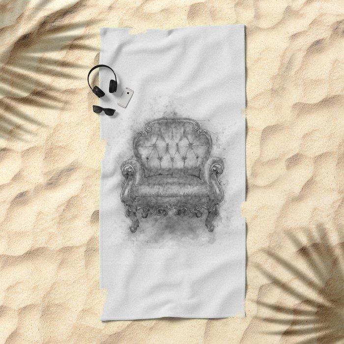 Sit a Bit! Beach Towel
