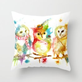 Season Change Throw Pillow