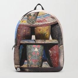 African village Backpack
