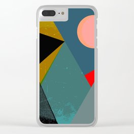 Swiss Alpes Clear iPhone Case