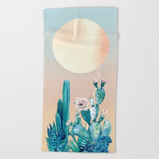 Desert Dawn Beach Towel